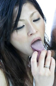 Ryo Sasaki Asian with hard nipples is fucked with vibrator a lot