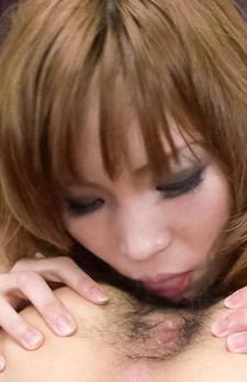 Gカップ爆乳の桜あいちゃんが登場!カメラ目線でバキュームフェラ&極楽パイずり!フィニッシュは口内射精!