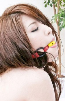 Ayaka Mizuhara is fucked with vibrators and gets cum from blowjob
