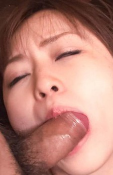 Nozomi Hatsuki Asian gets fingers in vagina and phallus in mouth