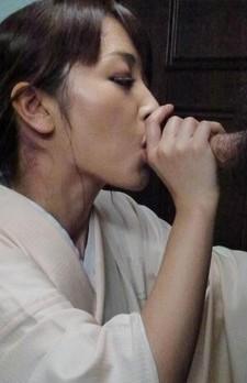 Marika Asian cupcake plays with cock and sucks it till gets cum
