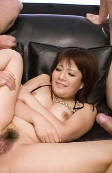 Kurara Iijima Asian has beaver aroused with vibrators in and on