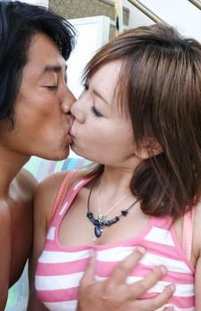Mei Hitomi Asian gets vibrator on clitoris before riding shlong
