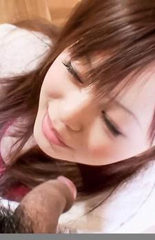 Noriko Kago Asian sucks hard shlong and receives it in poonanie