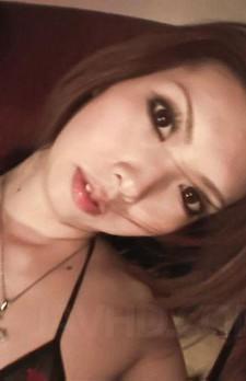 Rinka Kanzaki Asian with erect nipples gives blowjob to driver