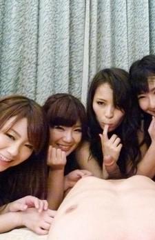 Yui Nanase Asian and other nude dolls masturbate same phallus