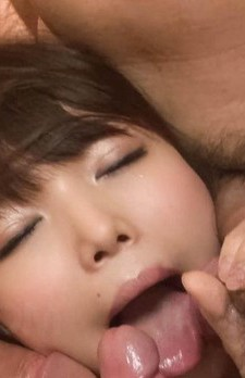 Megumi Shino Asian is so good at sucking boners with saliva