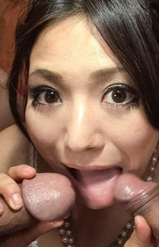 Kanade Otowa Asian has cock stuck in her vagina and want to suck