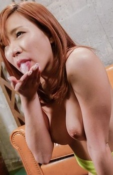 Yuika Akimoto Asian has boobs touched with boners and gets cum