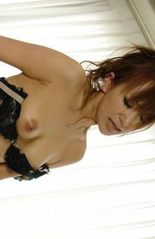 Anna Mizukawa Asian licks and sucks man hard cock and nipples
