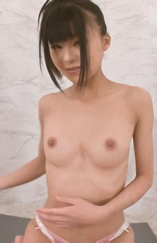 Chika Ishihara Asian with round boobies licks hard stiffy head