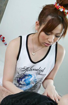 Yukina Momose Asian with brown nipples gets cum she wants so bad