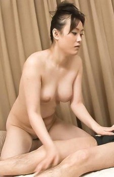 Hitomi Aizawa Asian licks dildo before sucking phallus so well
