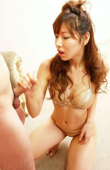 Serina Hayakawa Asian with firm boobs gets two boners in holes