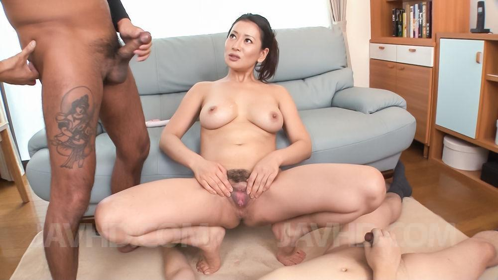 Junna hara amazing porn scenes on two cocks 3