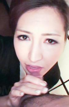 Koyuki Hara Asian is undressed of geisha dress while sucks penis