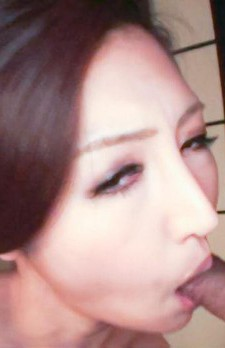 Koyuki Hara Asian sucks dick while is undressed of geisha dress