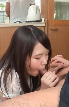 Sanae Akino Asian has boobs fondled a lot and licks hard penis