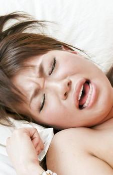 Kana Mimura Asian sucks two dicks and fingers her brown asshole