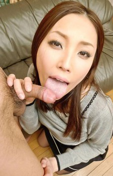 Nozomi Mashiro Asian licks and sucks joystick and crown jewels