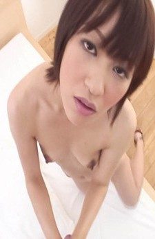 Nene Mashiro Asian sucks hard cock and crown jewels so damn well