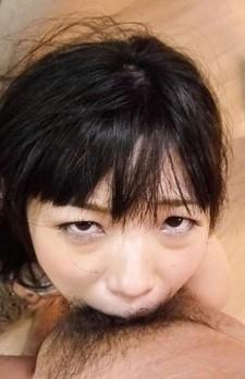 極上グラマラスボディの前田陽菜ちゃんが豪快Wフェラに挑戦!キュートなお顔を歪めてのゲボフェラからザーメンを連続フェラ抜き!