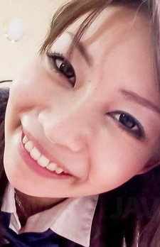 Sakura Anna Asian with erect nipples licks boner and crown jewels