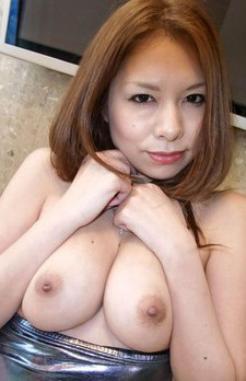 Hiromi Asian dame shows big boobs before is deeply nailed in cunt